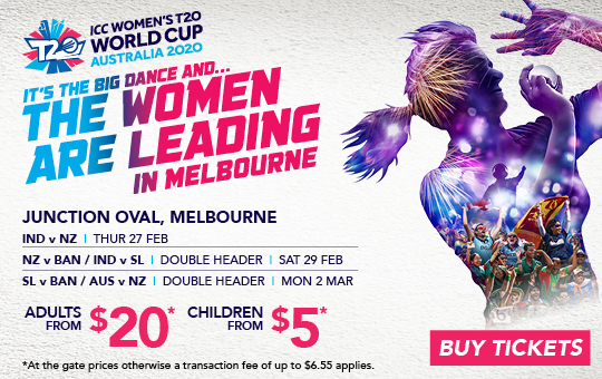 Women's T20 World Cup at the Junction Oval
