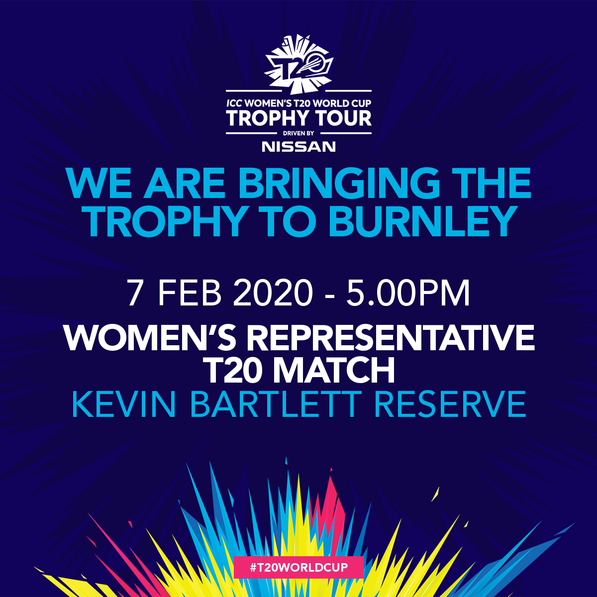 T20 World Cup trophy visit to Rep Match